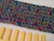 garter stitch loom knit scarf