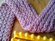 figure 8 stitch scarf