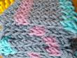 figure 8 stitch blanket